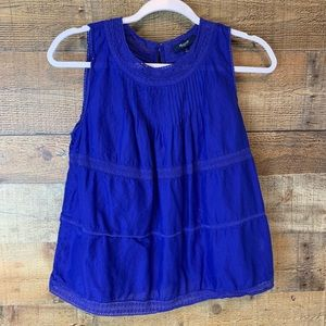 Madewell Memento tank top blue Size small